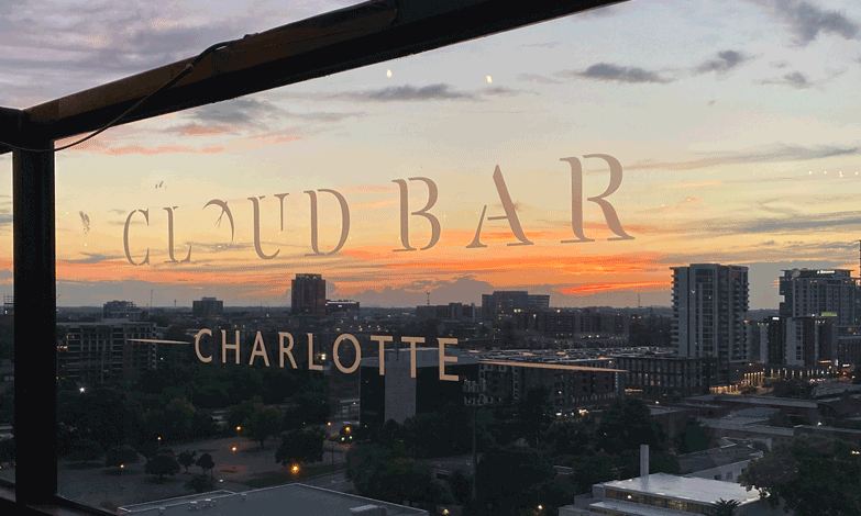Cloud Bar at Sunset