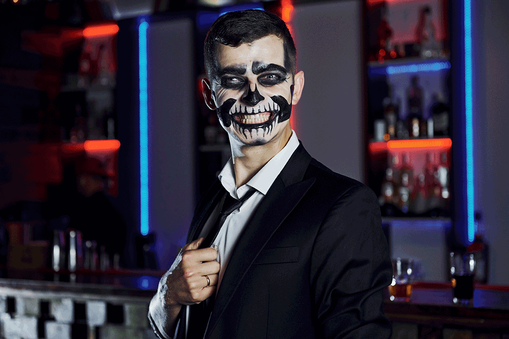 Halloween Painted Face