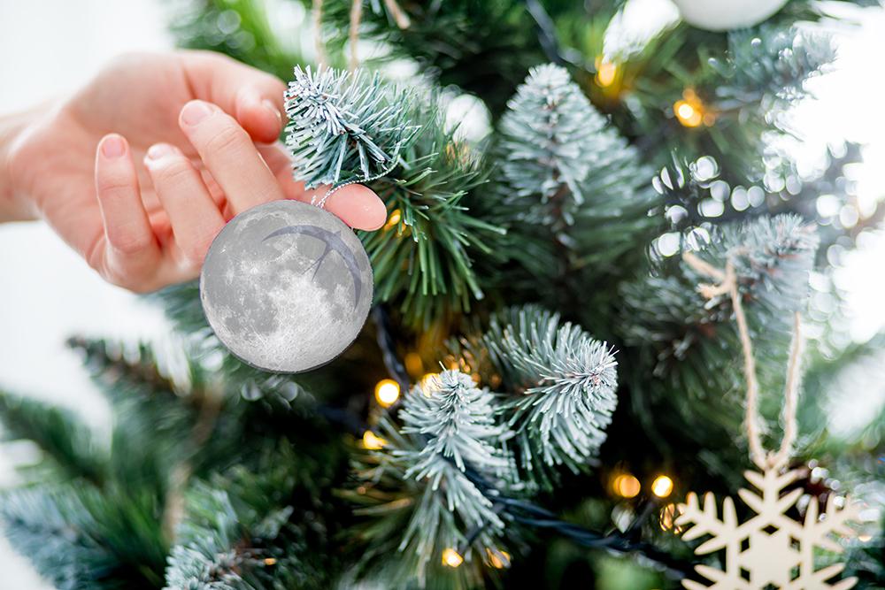 Full Moon Ornament